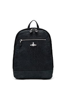 Vivienne Westwood Amazon Man Backpack in Black
