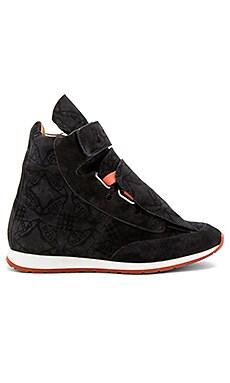 Высокие кроссовки с 3 язычками - Vivienne Westwood 63809512 W48 PS