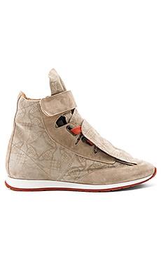 Высокие кроссовки с 3 язычками - Vivienne Westwood 63809512 W48 0106 FWM