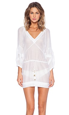 Vix Swimwear Julie Tunic in White