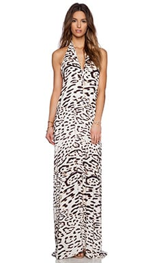 Vix Swimwear Ella Maxi Dress in Kai Off White