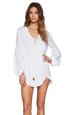 Vix Swimwear Paris Tunic in White