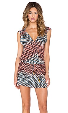 Vix Swimwear Molly Caftan in Atoll