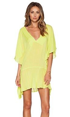 Vix Swimwear Maud Caftan in Acid