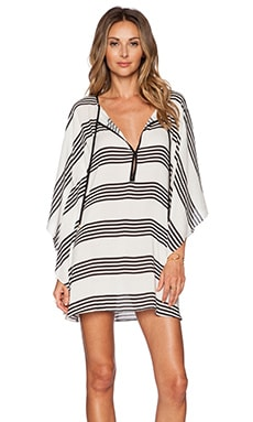 Vix Swimwear Caftan in Stripes