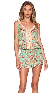 SOFIA by Vix Swimwear Low Waist Mini Dress in Provence
