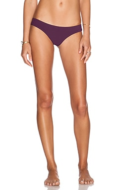 SOFIA by Vix Swimwear Buzios Bikini Bottom in Solid Berry