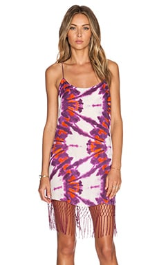 SOFIA by Vix Swimwear Net Fringe Dress in Lyon