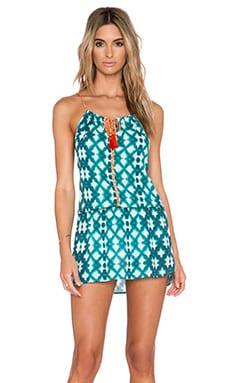 SOFIA by Vix Swimwear Tunnel Neck Mini Dress in Marseilles