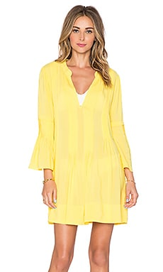 Vix Swimwear Ruby Caftan in Yellow