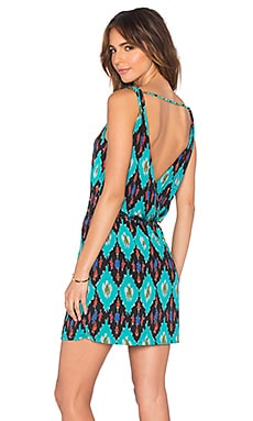 Vix Swimwear Anita Shift Dress in Rumis