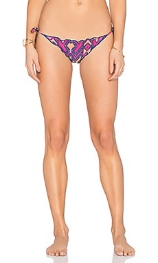 Ripple Side Tie Bikini Bottom in Capadocia