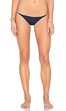 Vix Swimwear String Bikini Bottom in Solid Indigo