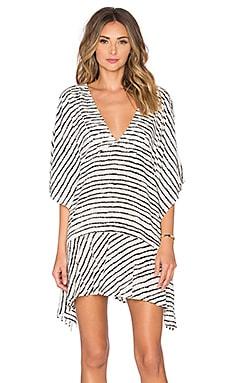 Vix Swimwear Maud Caftan in Zebra