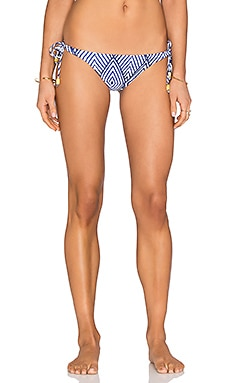 Side Tie Bikini Bottom in Razi