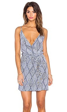 Vix Swimwear Susie Mini Dress in Razi