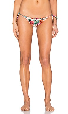 Vix Swimwear Ripple Bikini Bottom in Charlotte