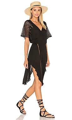 Nadja Caftan in Solid Black