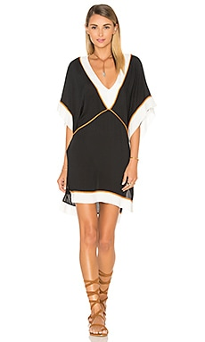 Vix Swimwear Michele Tunic in Solid Black