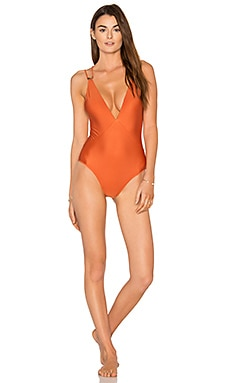 Solid Thai Ballet One Piece en Copper