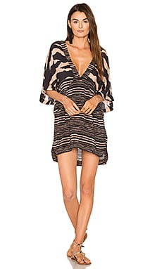 Lanai Cloe Caftan in Black