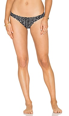 Dot Basic Bikini Bottom in Black