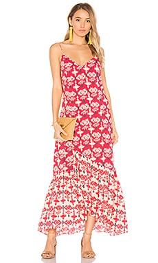 Kali Elma Maxi Dress en Imprimé