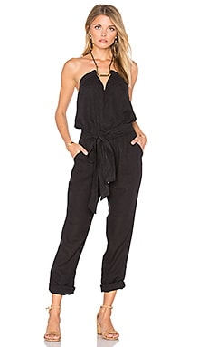 Thai Jumpsuit in Solid Black