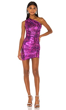 One Shoulder Dress Versace Jeans Couture $305