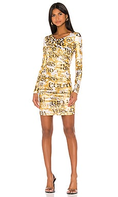 Long Sleeve Dress Versace Jeans Couture $505