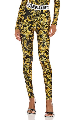 LEGGINGS PAISLEY Versace Jeans Couture $225 Collections