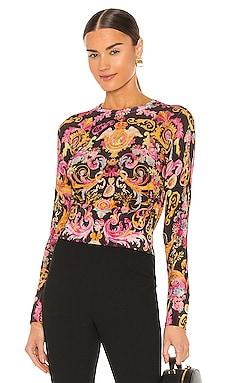 Versailles Knit Top Versace Jeans Couture $395
