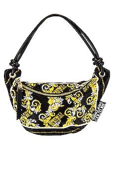 Logo Baroque Shoulder Bag Versace Jeans Couture $195 Collections