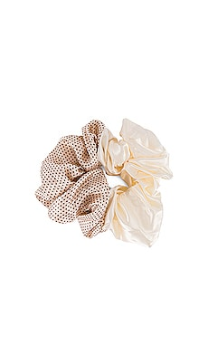 Semi Dot Scrunchie Valet $34