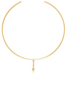 Vanessa Mooney Stardust Delicate Choker in Gold