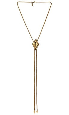 Vanessa Mooney The Bardot Bolo Necklace in Gold