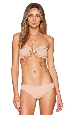 Vanessa Mooney The Montana Body Chain in Gold