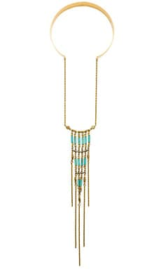 Vanessa Mooney Walkin' After Midnight Necklace in Gold