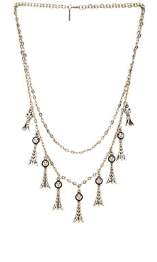 Vanessa Mooney The Holloway Necklace in Rhodium