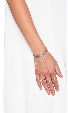 Vanessa Mooney The Long Life Ring Bracelet in Silver