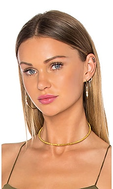 Vanessa Mooney The Swan Choker in Gold