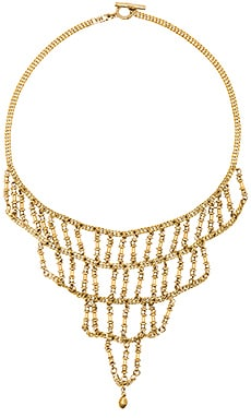 Vanessa Mooney The Harlow Necklace in Gold