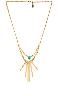 Vanessa Mooney The Crossroads Necklace in Gold