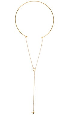 Vanessa Mooney The Headley Choker in Gold