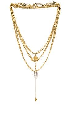 Vanessa Mooney Schools Out For Summer Chain Choker in Brass