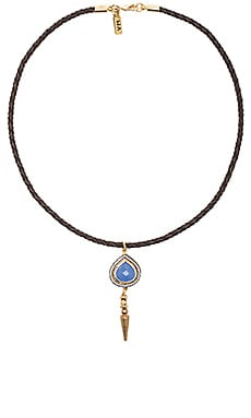 Vanessa Mooney Rhythm & Blues Choker in Blue Chalcedony