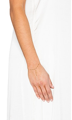 Vanessa Mooney Golden Age Hand Chain in Gold