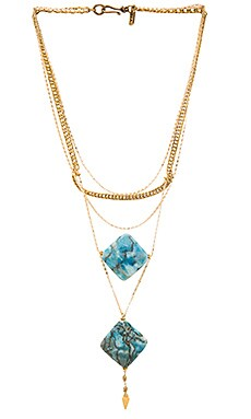 Kismet Necklace in Gold