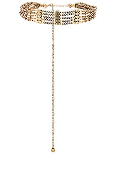 Vanessa Mooney The Marion Choker in Brass
