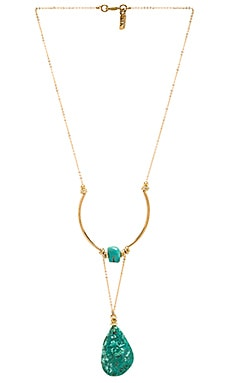 Vanessa Mooney Honey-Rider Necklace in Gold